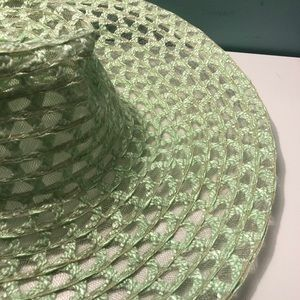 Straw/Mesh Floppy Hat